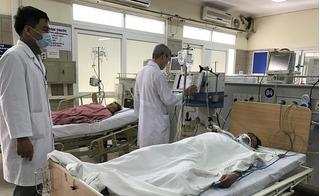 Hà Nội: Trốn gia đình đi nhậu, một người đàn ông bị chảy máu não