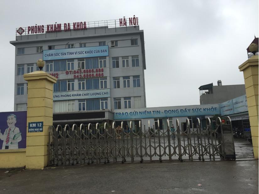 Thai phụ chết não tại Phòng khám  1