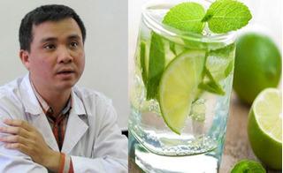 Cho người say rượu uống nước chanh kiểu này có thể nguy hiểm đến tính mạng