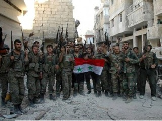 Quân đội Syria thắng liên tiếp, khủng bố IS co cụm yếu ớt