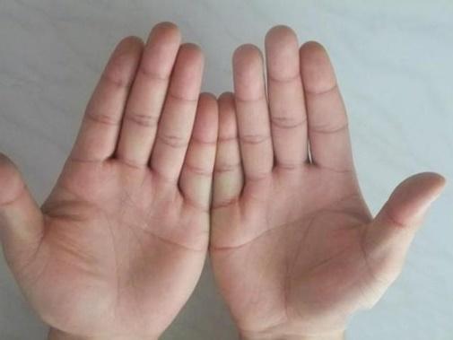Những đường vân nhỏ mà có võ trong lòng bàn tay