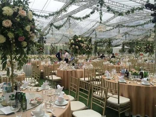 đám cưới chục tỷ ở Hải Phòng2
