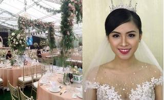 Hải Phòng: Đám cưới gây chú ý với 3,7 tỷ trang trí, cô dâu xinh như hoa hậu