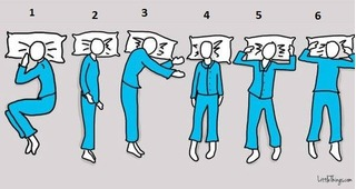 Tư thế ngủ hé lộ khả năng tiềm ẩn trong con người bạn