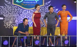 Trường Giang bị Tóc Tiên ép mặc váy nhảy múa trên sân khấu