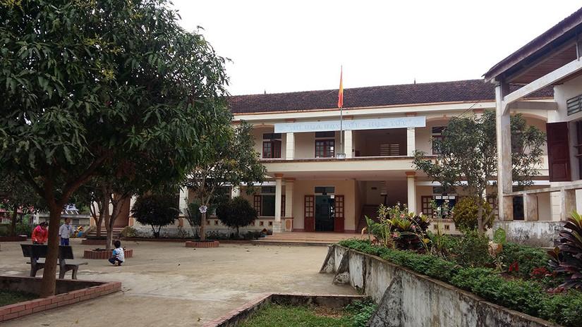 Ngôi trường nơi xảy ra vụ việc cô giáo đánh học sinh đến u đầu