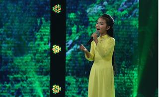 Quang Linh đoán tương lai  cô bé 13 tuổi hát hay như NSND Thu Hiền