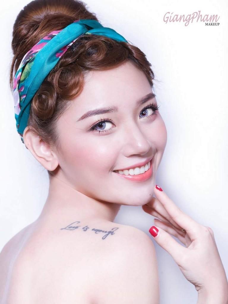 Hot girl Đoàn Ngọc Mỹ Hằng - Jie 2