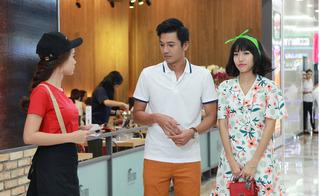 Diệu Nhi bị trật cổ vì che giấu tình cảm với Quang Tuấn