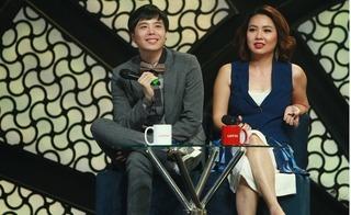 Lê Khánh được chồng hộ tống làm giám khảo chương trình ca nhạc