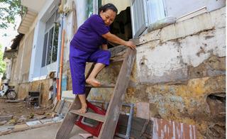 1001 cách ứng phó của người Hà Nội khi buộc phải phá bậc tam cấp
