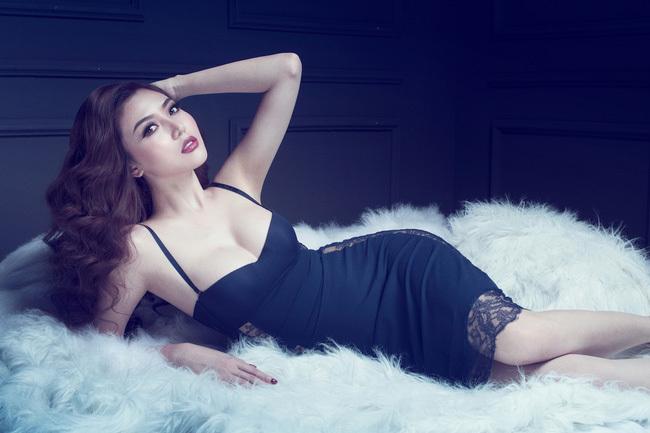 Hoa hậu Ngọc Duyên mặc nội y 6