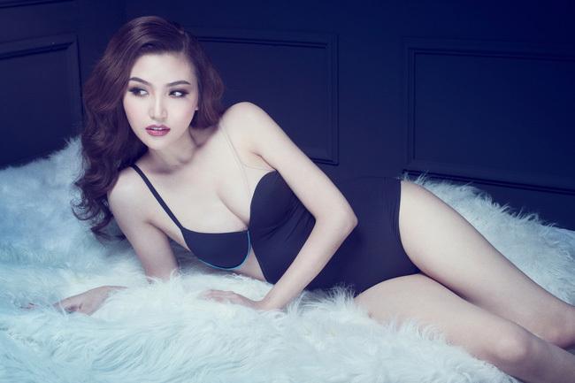 Hoa hậu Ngọc Duyên mặc nội y 5