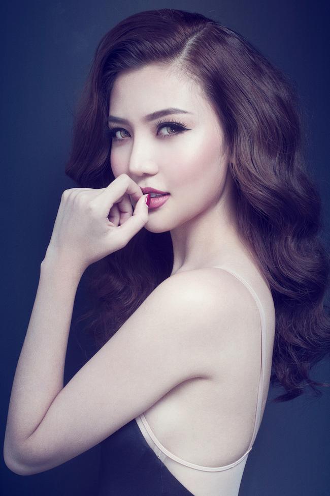 Hoa hậu Ngọc Duyên mặc nội y 3