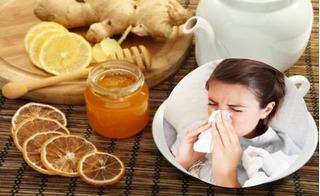 Thổi bay cảm cúm, quét sạch đờm ho nhờ 4 nguyên liệu có sẵn trong bếp của mọi gia đình