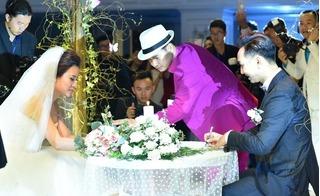 Cận cảnh màn ký hợp đồng hôn nhân siêu hài hước tại đám cưới MC Thành Trung