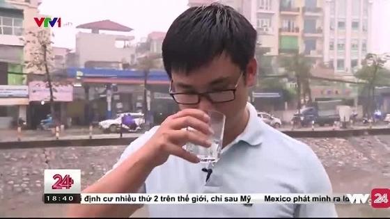 uống nước sông Tô Lịch 1