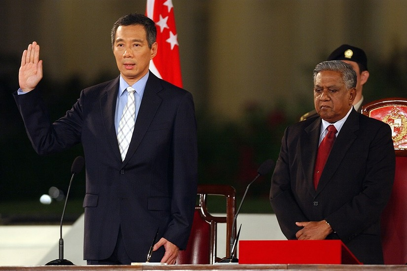 Thủ tướng Singapore Lý Hiển Long 2