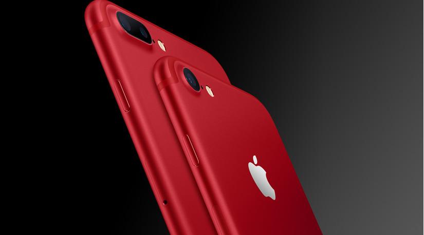 iPhone 7 đỏ và iPhone 7 Plus đỏ 1