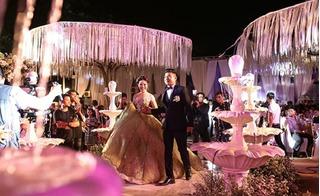TP.HCM: Đám cưới bạc tỷ của nữ đại gia 9X với hàng loạt sao Việt hạng A