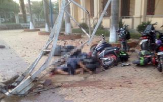 Nam sinh bị cần cẩu hàng chục mét đè chết ở Nghệ An: 4 người bị khởi tố