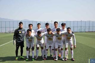 Khóa 3 HAGL JMG chiến U19 Việt Nam, U19 Thái Lan trong tháng 4