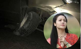 Nhật Kim Anh có linh cảm chẳng lành trước khi bị tai nạn nát xe hơi