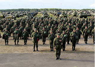 Quân đội Nga sắp tập trận với 3000 lính và 200 vũ khí hạng nặng