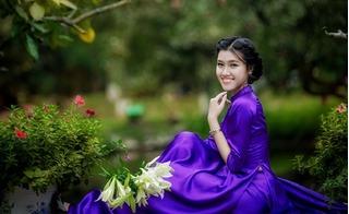 10X Hà thành xinh đẹp, duyên dáng bên sắc hoa loa kèn