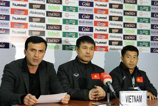 HLV Hữu Thắng tiếc nuối về trận hòa của đội tuyển Việt Nam