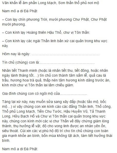 Cách cúng Tết Thanh Minh 3