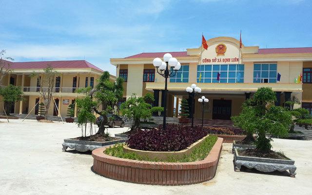 Trụ sở UBND xã Định Liên, huyện Yên Định, tỉnh Thanh Hóa