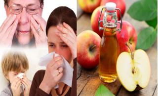 Bài thuốc chống ngạt mũi, chữa dứt điểm viêm xoang mãn tính bằng dấm táo cực đơn giản