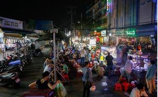 Khu chợ cho người bán hàng rong đầu tiên ở Sài Gòn