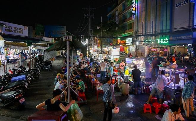 Khu chợ bán hàng rong cho người dân quận Tân Bình