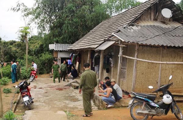 Con trai chém mẹ tử vong ở Lào Cai 1