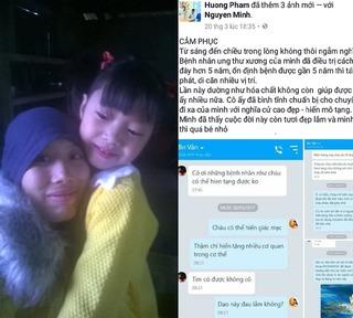 Rơi nước mắt với chuyện người mẹ trẻ bị ung thư muốn hiến tạng để