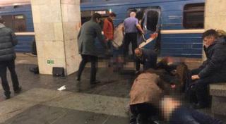 Xác người la liệt ở ga tàu điện Nga, chân dung nghi phạm khủng bố đã xác định
