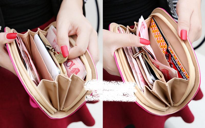 Nếu không muốn nghèo mạt vận, bạn không nên nhét quá nhiều thứ vào ví. Ảnh: Internet