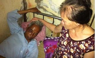 2 cô gái tông cụ ông gãy chân, người be bét máu rồi mang ra vứt ở nghĩa địa