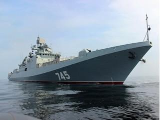 Bộ sậu chiến hạm uy lực Nga tức tốc điều đến Địa Trung Hải sau vụ Mỹ bắn Syria