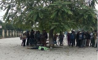 Thanh Hóa: Phát hiện xác nam thanh niên trước cửa công viên