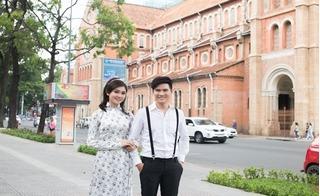 Á hậu Thùy Dung dịu dàng với hình ảnh tiểu thư Sài Gòn xưa