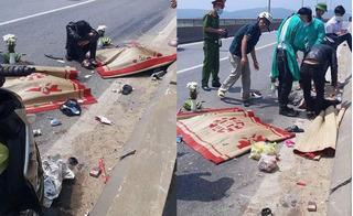 Tai nạn kinh hoàng trên cầu Gianh, chồng bất lực nhìn vợ bầu và con 2 tuổi chết thảm