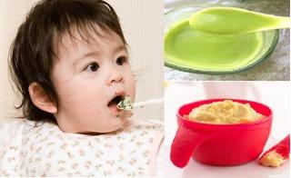 Nguyên tắc bắt đầu ăn dặm và những món bột thơm ngon, bổ dưỡng dành cho bé 6 tháng tuổi