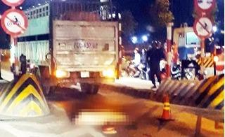 Tông chết chiến sỹ CSGT, tài xế nhảy cầu bỏ trốn