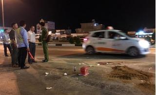 Thiếu tá CSGT bị xe tải cán chết: Do bám vào gương chiếu hậu của xe