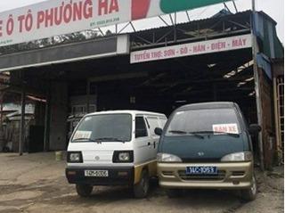 Xe biển xanh được rao bán như rau ở Quảng Ninh