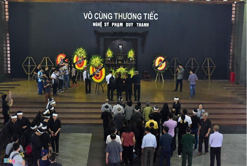 Đám tang nghệ sĩ Duy Thanh 1