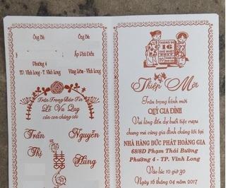 """Con trai và mẹ cải trang vào đám cưới của bố để """"đòi chú rể"""